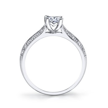 25354 Diamond Engagement Ring 0.22 ct tw