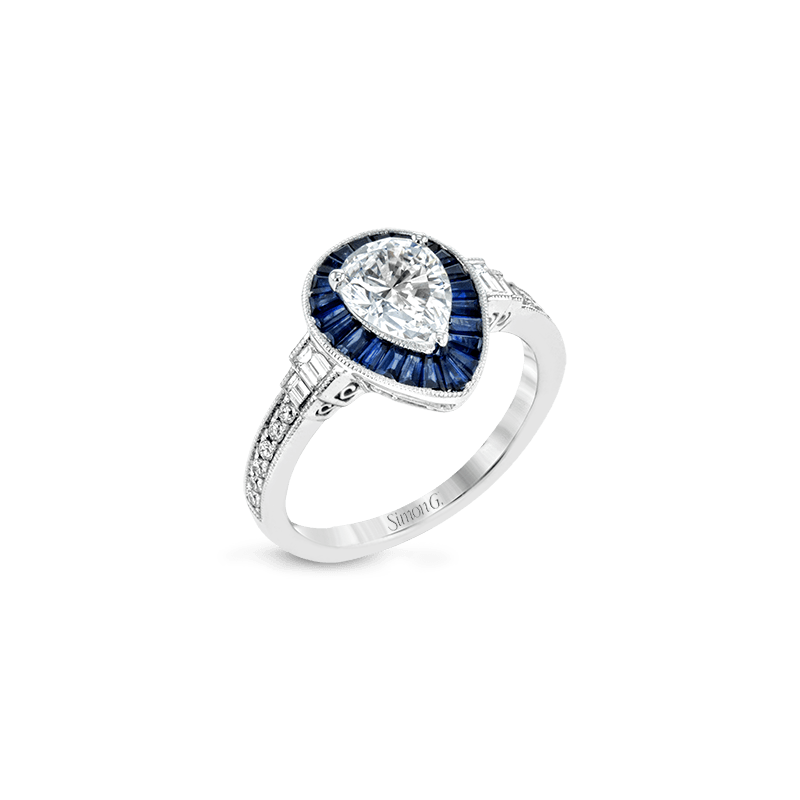 Simon G LR1187 ENGAGEMENT RING