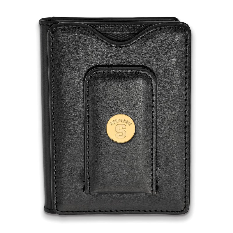 NCAA Gold-Plated Sterling Silver Syracuse University NCAA Wallet