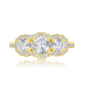 VERONESE THREE STONE RING