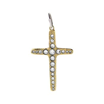 Amor Fati Single Cross Pendant