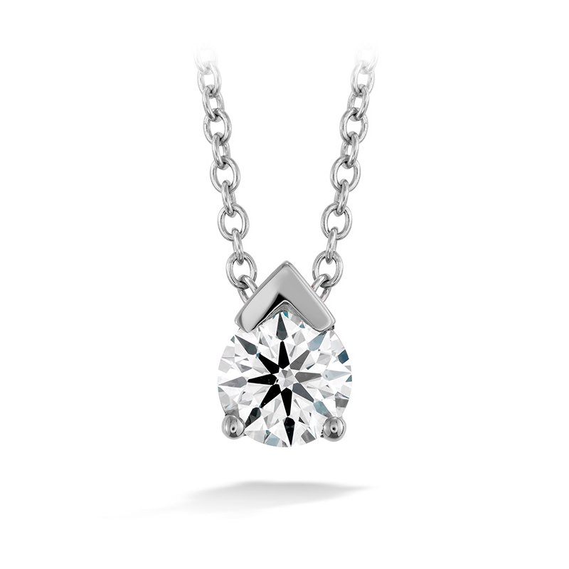 Hearts on Fire 0.5 ctw. Aerial Single Diamond Pendant