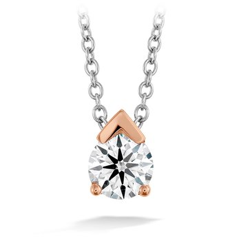 0.5 ctw. Aerial Single Diamond Pendant
