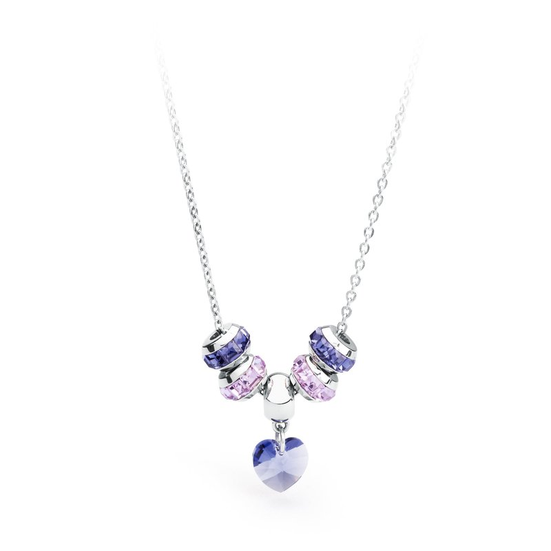 Brosway 316L stainless steel, tanzanite and violet Swarovski® Elements crystals.