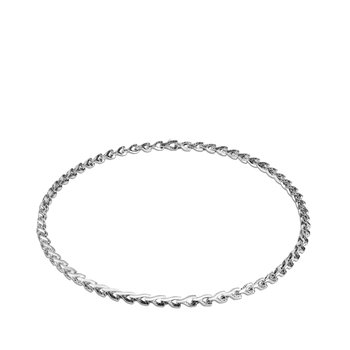 Asli Classic Chain 7MM Link Necklace in Silver