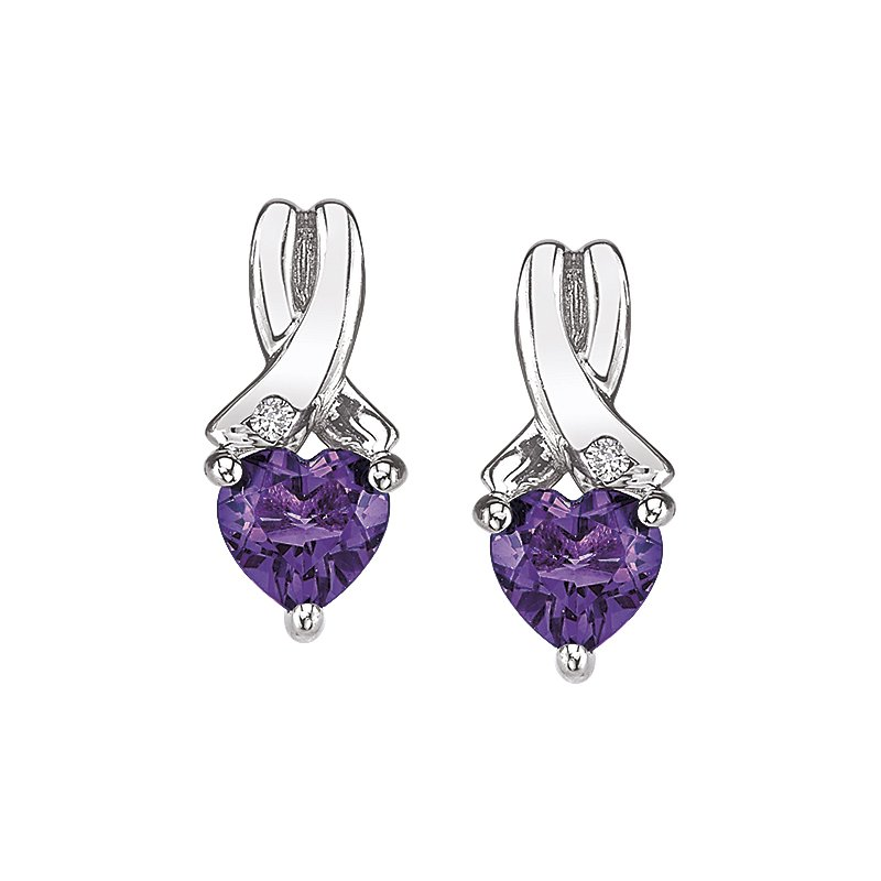 Simmons & Clark Two Hearts Collection Earrings