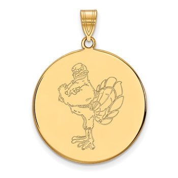 Gold Virginia Tech NCAA Pendant