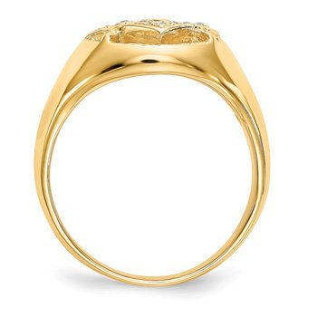 14k AA Diamond Ring
