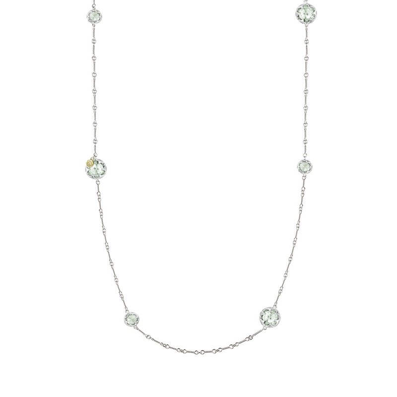 Tacori Fashion Gem Drops Necklace featuring Prasiolite