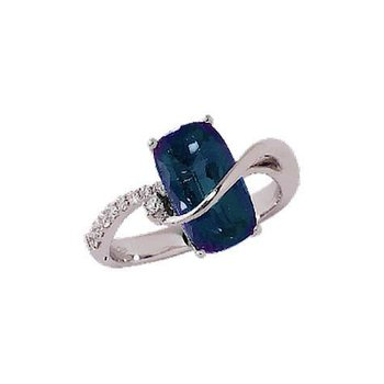 Alexandrite Ring-CR7230CWAL