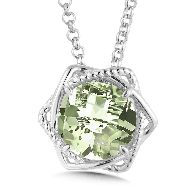 green amethyst ss product p pink and pendant