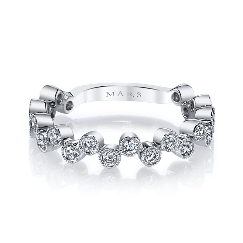 MARS Jewelry - Ring 26202WG