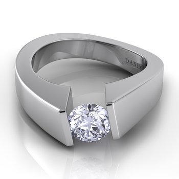 Voltaggio Single Shank Tension Engagement Ring