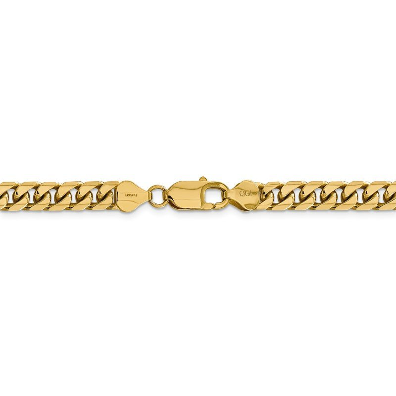 Quality Gold 14k 6.25mm Solid Miami Cuban Chain