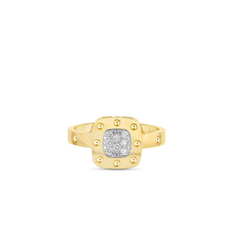 Roberto Coin Ring With Diamonds &Ndash; 6.5