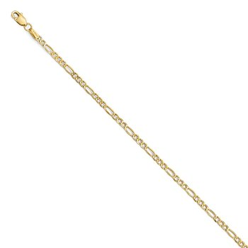 Leslie's 14k 2.5mm Figaro Chain