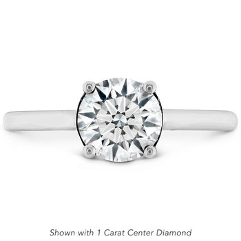 0.01 ctw. Sloane Silhouette Engagement Ring