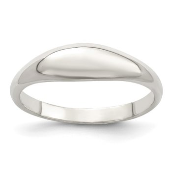 Sterling Silver Fancy Domed Ring