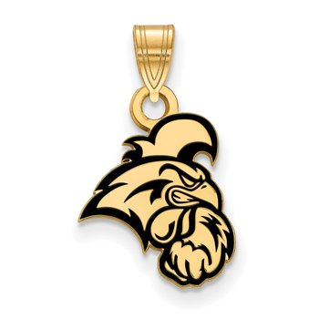 Gold-Plated Sterling Silver Coastal Carolina University NCAA Pendant