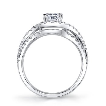 MARS 25602 Diamond Engagement Ring 0.70 Ctw.