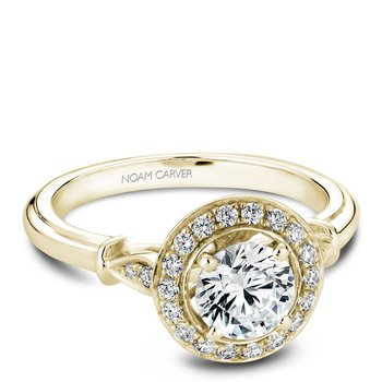 Noam Carver Vintage Engagement Ring B074-01YA