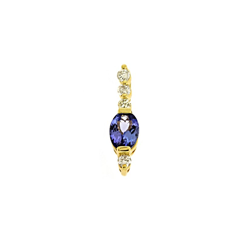 S. Kashi  & Sons Tanzanite./diamond Pendant