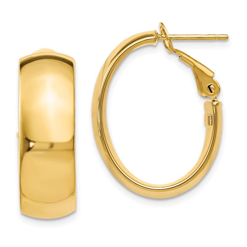 Leslie's Leslie's 14K Polished Hoop Earrings