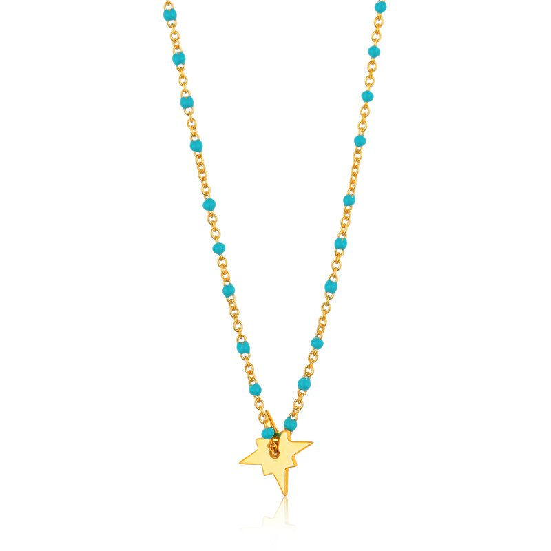 Ania Haie Dotted Star Necklace