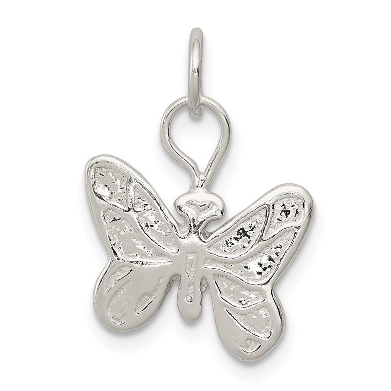 Quality Gold Sterling Silver Butterfly Charm