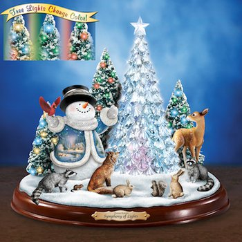 "Thomas Kinkade ""Symphony of Lights"" Illuminated Sculpture"