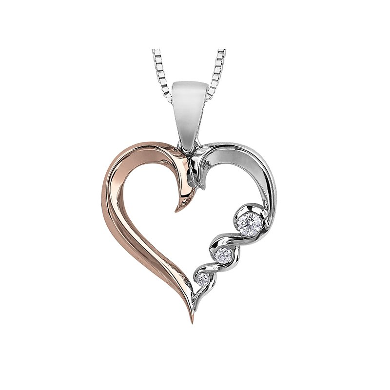 Maple Leaf Diamonds Maple Leaf Diamond Tides of Love Pendant