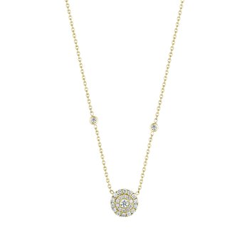 Double Round Necklace