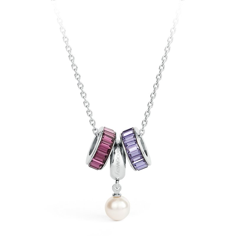 Brosway 316L stainless steel, crystals and pearl Swarovski® Elements