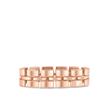 Retro Link Bracelet &Ndash; 18K Rose Gold