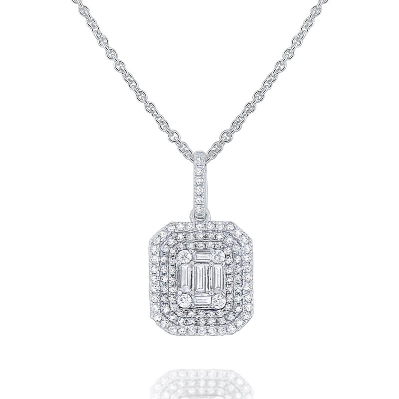 KC Designs Diamond Metropolis Necklace Set in 14 Kt. Gold
