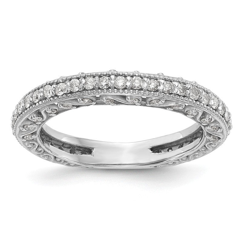 True Origin 14kw True Origin Lab Grown Dia VS/SI D,E,F Wedding Band