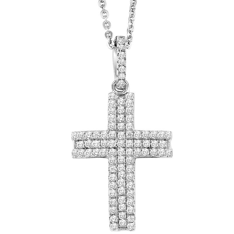 Mixables Silver Cross Pendant