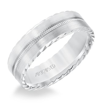 Artcarved Mens Wedding Band