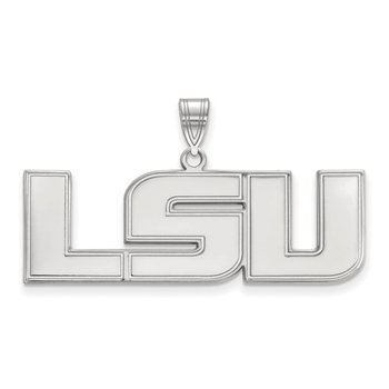Sterling Silver Louisiana State University NCAA Pendant