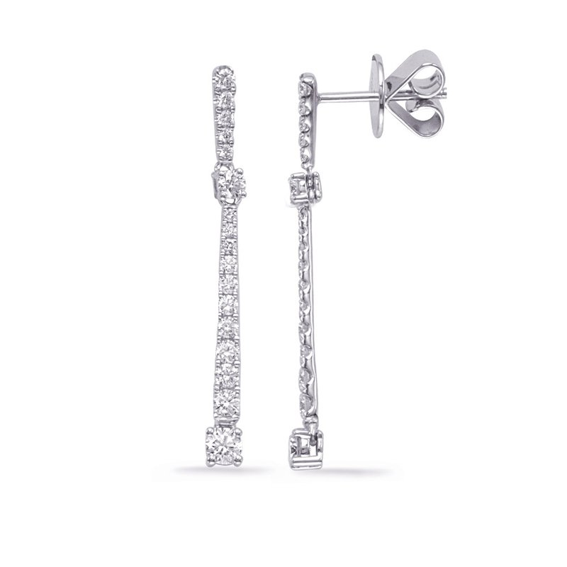 Briana White Gold Diamond Fashion Earring