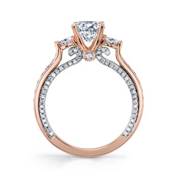 MARS 27182 Diamond Engagement Ring, 0.72 Ctw