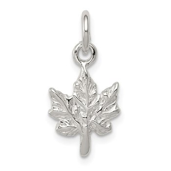 Sterling Silver Maple Leaf Charm