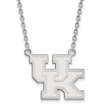 Sterling Silver University of Kentucky NCAA Necklace