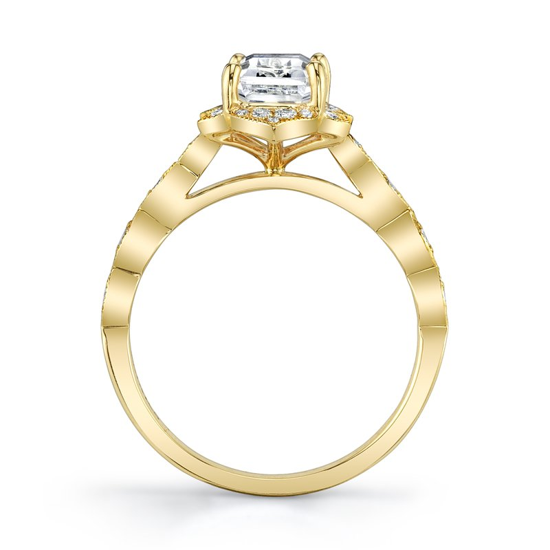 MARS 27099 Engagement Ring, 0.21 Ctw.