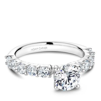 Noam Carver Vintage Engagement Ring B178-03A