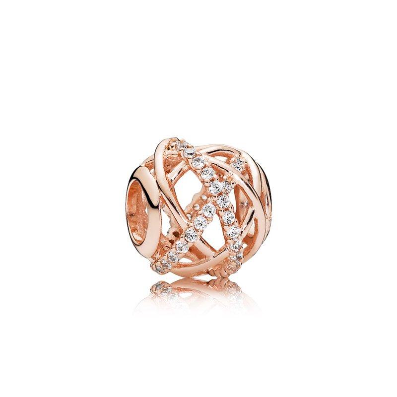 4ab806eb5 Pollock's Jewelers: PANDORA Galaxy Charm, Pandora Rose™ Clear Cz