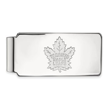 Sterling Silver Toronto Maple Leafs NHL Money Clip