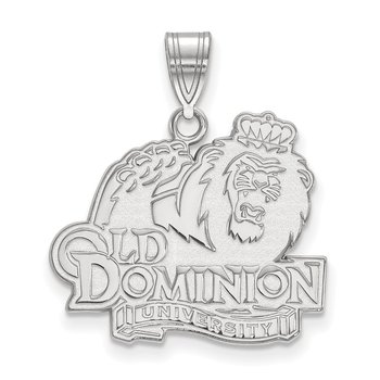 Gold Old Dominion University NCAA Pendant