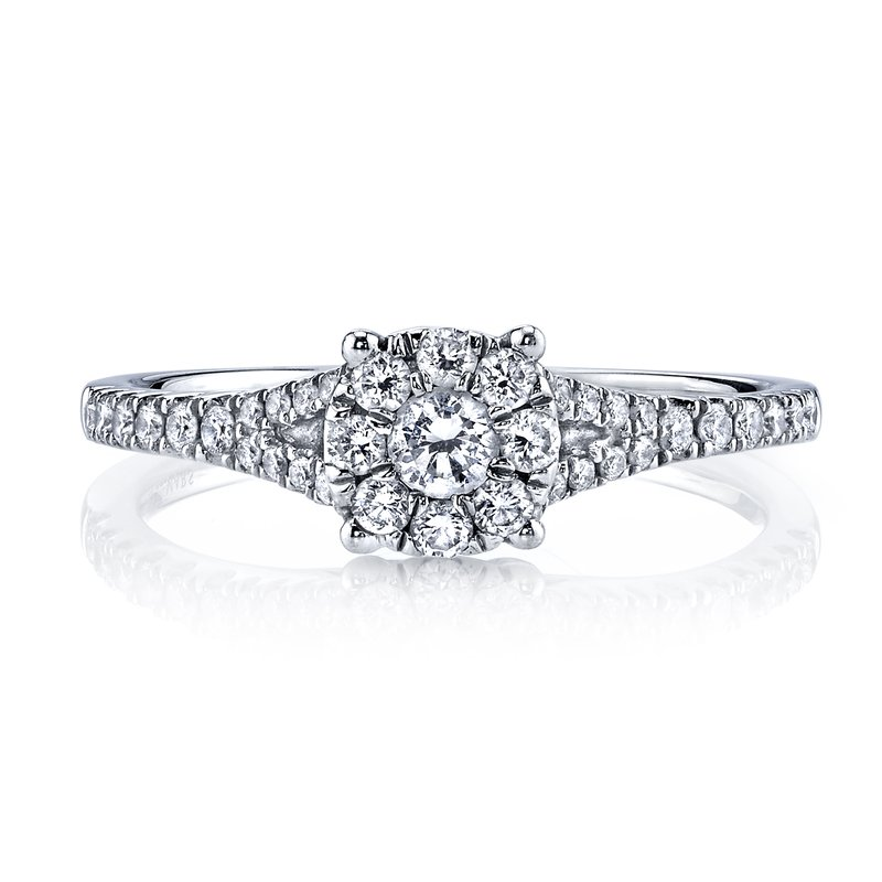 MARS Jewelry MARS 25789 Diamond Engagement Ring 0.42 Ctw.