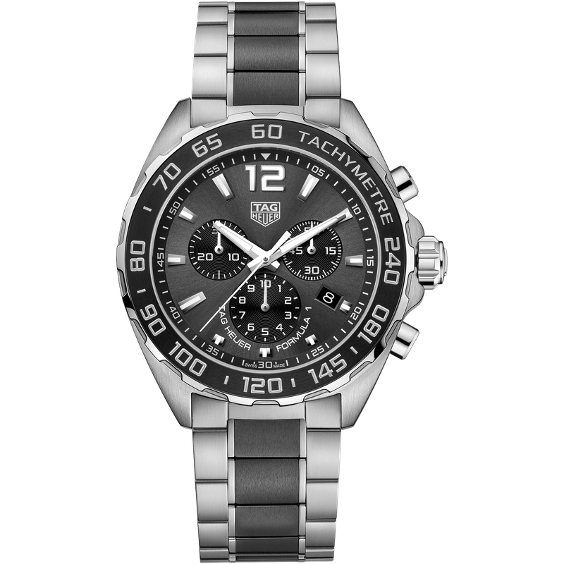 Tag Heuer - USD Formula 1 Quartz Steel & Ceramic Chronograph